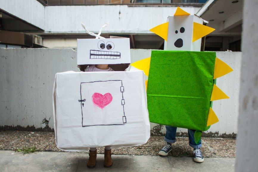 Roboter verkleiden