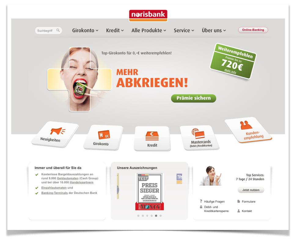 Norisbank Website