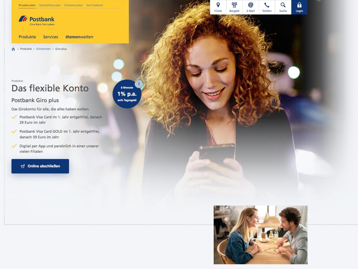 Postbank Website