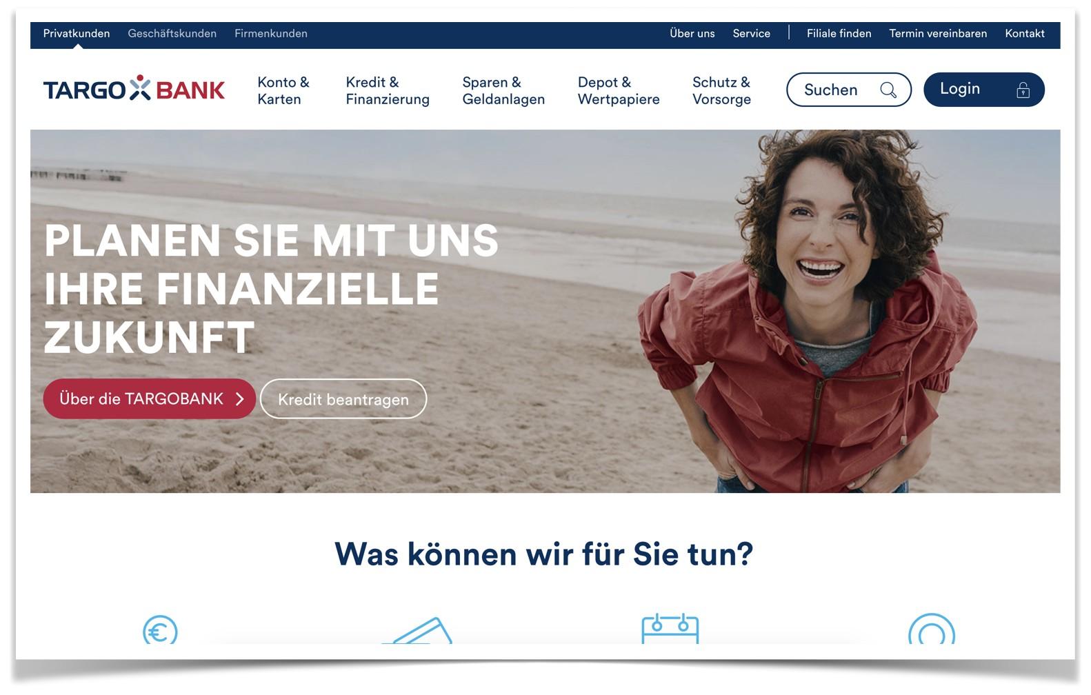 Targobank Website